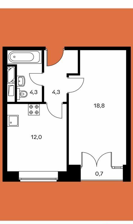 Продажа однокомнатной квартиры Москва, метро Фили, Заречная улица 2/1с12, цена 12100000 рублей, 2021 год объявление №454795 на megabaz.ru