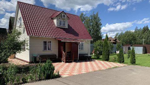 Продажа дома деревня Новоглаголево, Заречная улица, цена 650000 рублей, 2020 год объявление №485909 на megabaz.ru