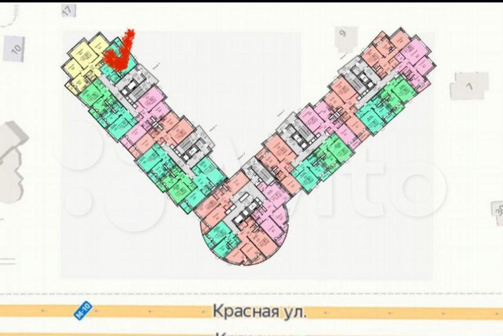 Продажа двухкомнатной квартиры Солнечногорск, Красная улица, цена 4320000 рублей, 2021 год объявление №612526 на megabaz.ru