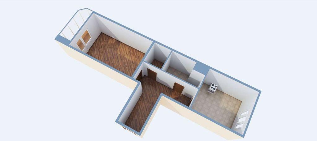 Продажа однокомнатной квартиры село Рождествено, Рождественский бульвар 5, цена 3300000 рублей, 2021 год объявление №453867 на megabaz.ru