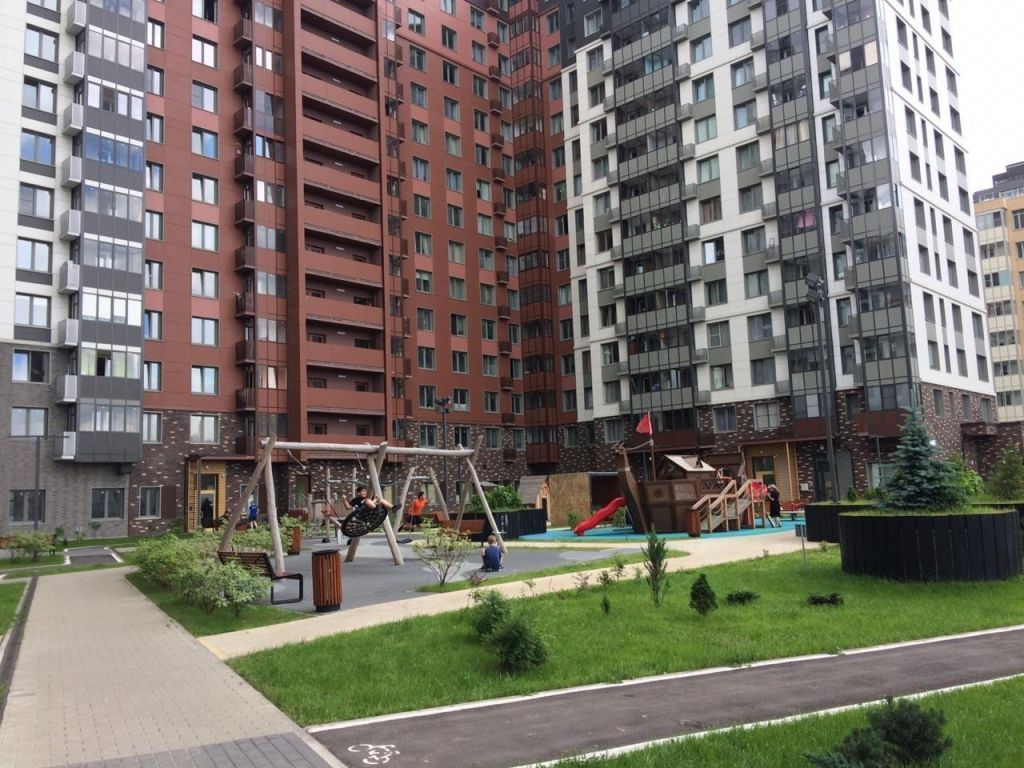 Аренда однокомнатной квартиры деревня Бородино, Осташковское шоссе вл52с1, цена 28000 рублей, 2021 год объявление №1141384 на megabaz.ru