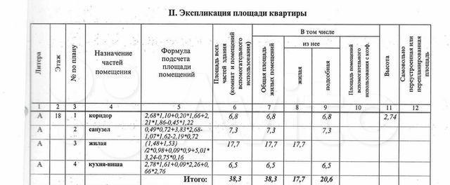 Продажа однокомнатной квартиры Реутов, метро Новокосино, Юбилейный проспект 67, цена 5390000 рублей, 2021 год объявление №597552 на megabaz.ru