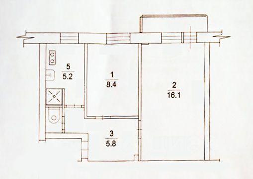 Продажа двухкомнатной квартиры Жуковский, улица Амет-хан Султана 1, цена 4700000 рублей, 2021 год объявление №633664 на megabaz.ru