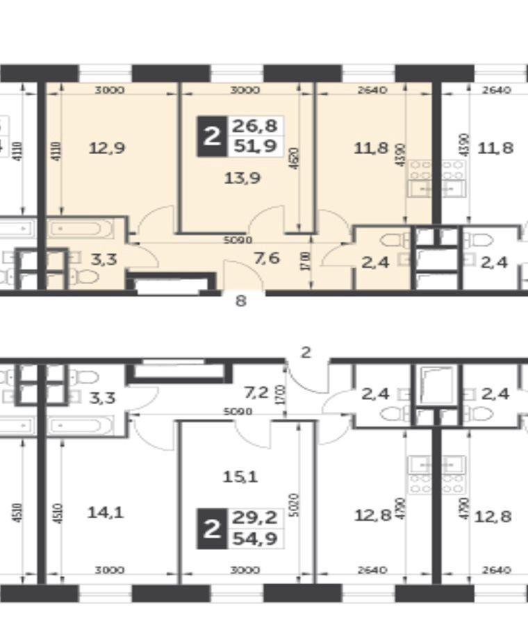 Продажа двухкомнатной квартиры Москва, метро Тушинская, цена 7900000 рублей, 2020 год объявление №491907 на megabaz.ru