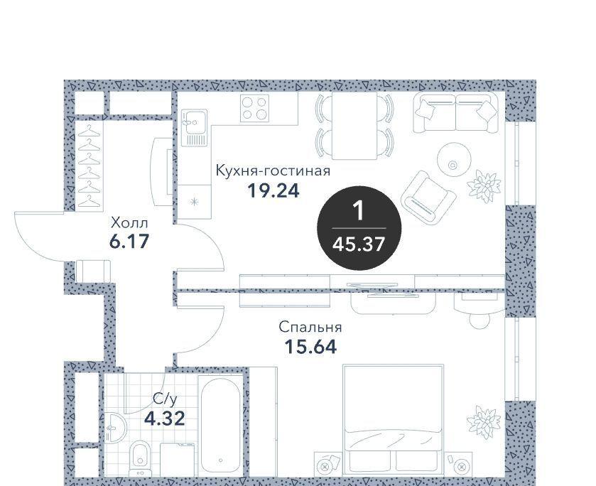 Продажа студии Москва, метро Алексеевская, цена 11100000 рублей, 2020 год объявление №487245 на megabaz.ru