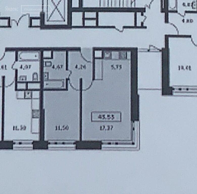 Продажа двухкомнатной квартиры деревня Раздоры, метро Строгино, улица Тенистых Аллей, цена 6100000 рублей, 2020 год объявление №491876 на megabaz.ru