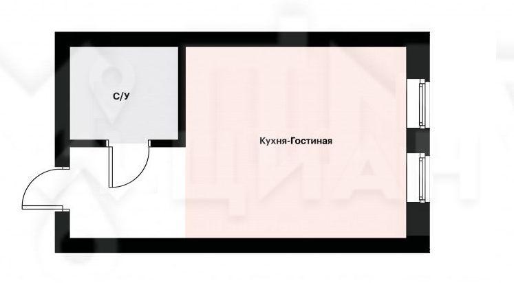 Аренда студии поселок Ильинское-Усово, Архангельская улица 1, цена 23000 рублей, 2020 год объявление №1209864 на megabaz.ru
