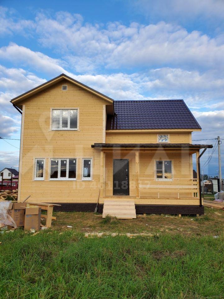 Продажа дома деревня Поповка, Млечная улица, цена 3500000 рублей, 2020 год объявление №489532 на megabaz.ru