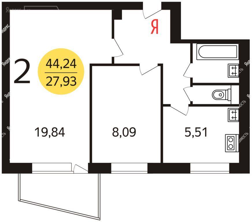 Продажа двухкомнатной квартиры Москва, метро Рязанский проспект, 1-я Новокузьминская улица 20к1, цена 7500000 рублей, 2021 год объявление №490201 на megabaz.ru