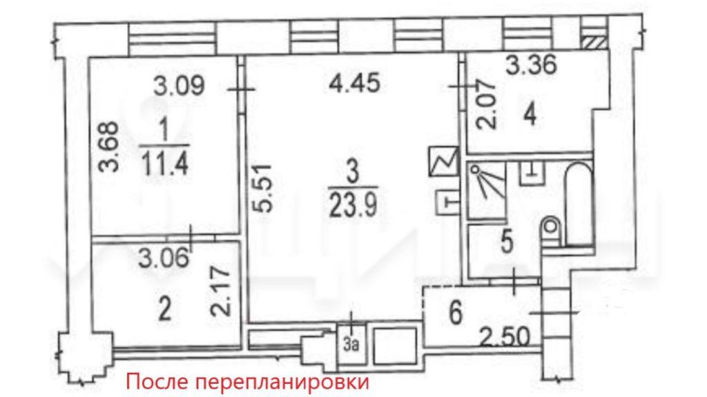 Продажа двухкомнатной квартиры Москва, метро Фрунзенская, Пуговишников переулок 15, цена 21990000 рублей, 2020 год объявление №491128 на megabaz.ru