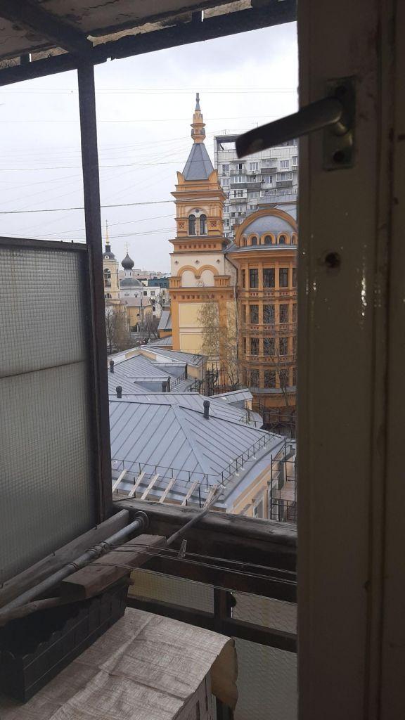 Продажа однокомнатной квартиры Москва, улица Малая Полянка 8, цена 18500000 рублей, 2021 год объявление №495920 на megabaz.ru