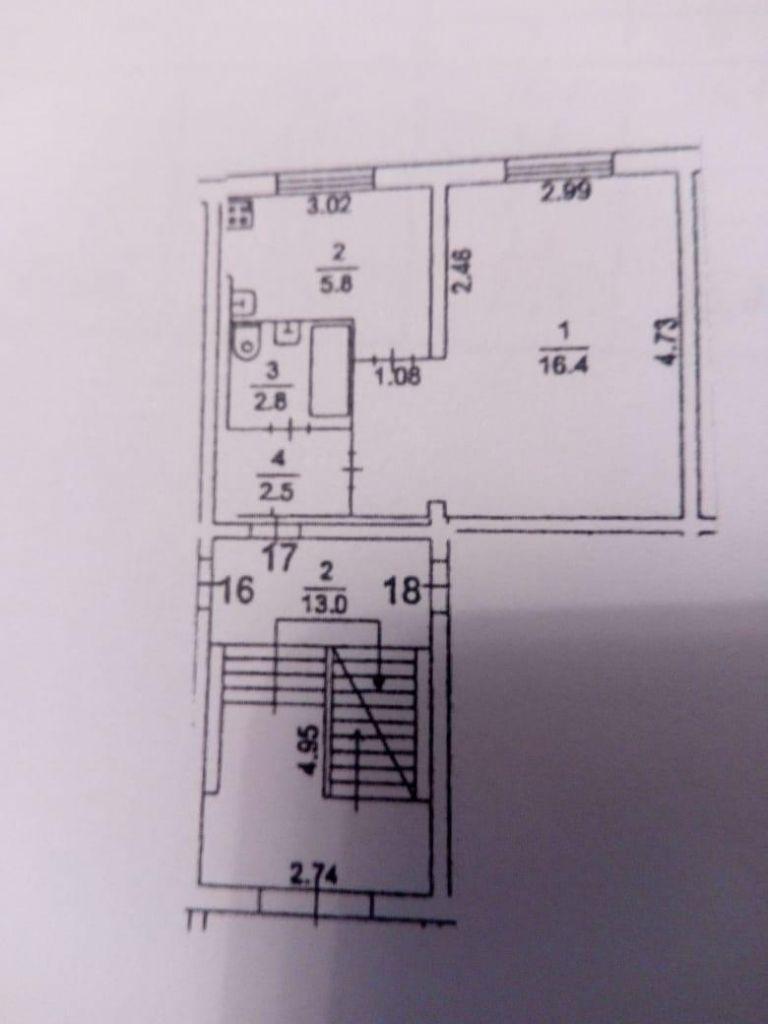 Продажа однокомнатной квартиры поселок Поведники, цена 4100000 рублей, 2021 год объявление №493450 на megabaz.ru