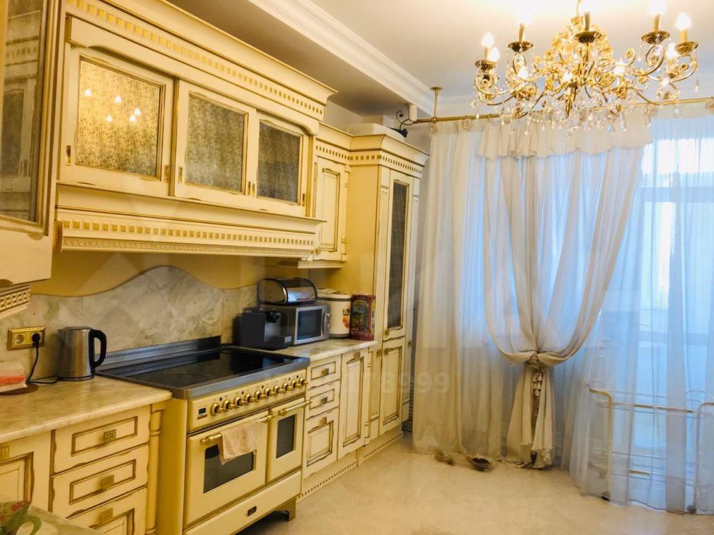 Аренда пятикомнатной квартиры Москва, проезд Берёзовой Рощи 12, цена 550000 рублей, 2020 год объявление №1202985 на megabaz.ru