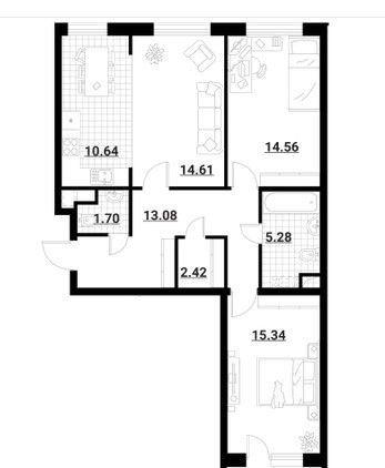 Продажа трёхкомнатной квартиры Москва, метро Медведково, Тайнинская улица 9к4, цена 14500000 рублей, 2020 год объявление №446663 на megabaz.ru