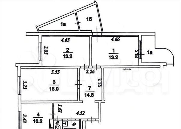 Продажа трёхкомнатной квартиры Москва, метро Юго-Западная, улица Академика Анохина 12к3, цена 18600000 рублей, 2021 год объявление №579173 на megabaz.ru