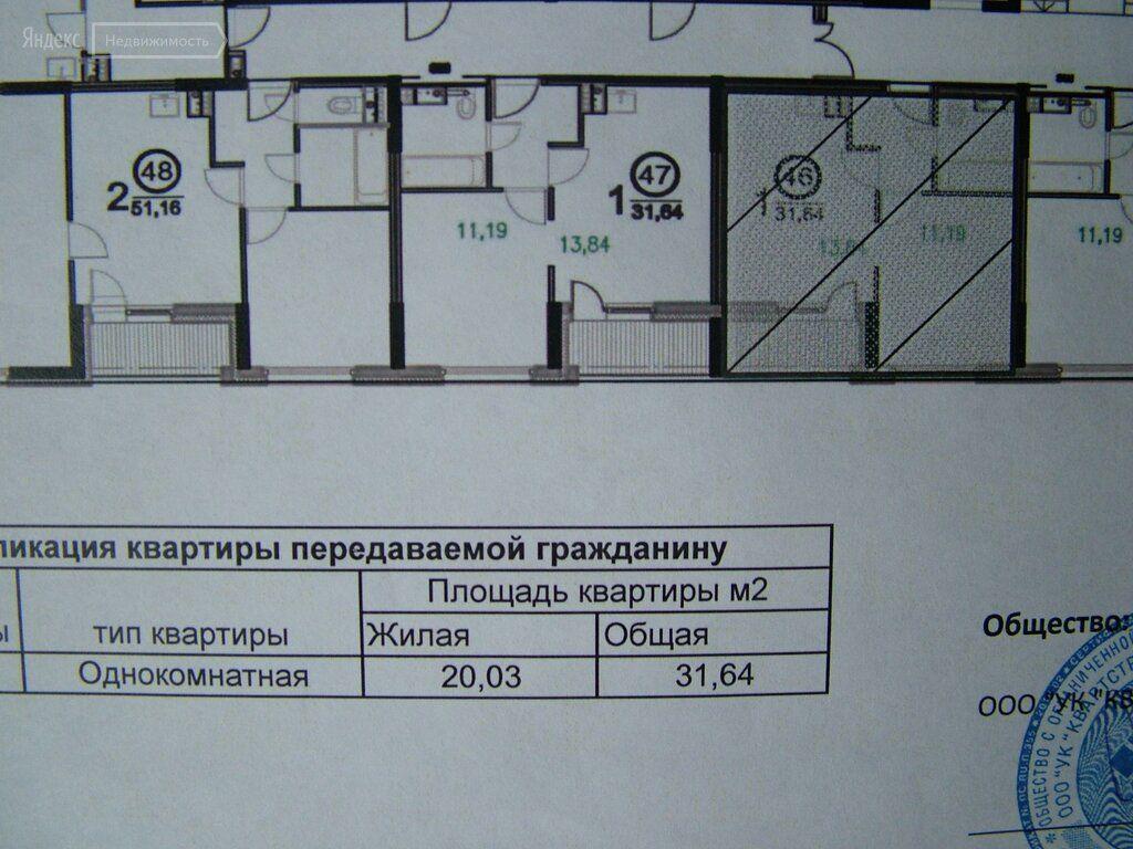 Продажа однокомнатной квартиры деревня Жабкино, цена 3100000 рублей, 2021 год объявление №499187 на megabaz.ru