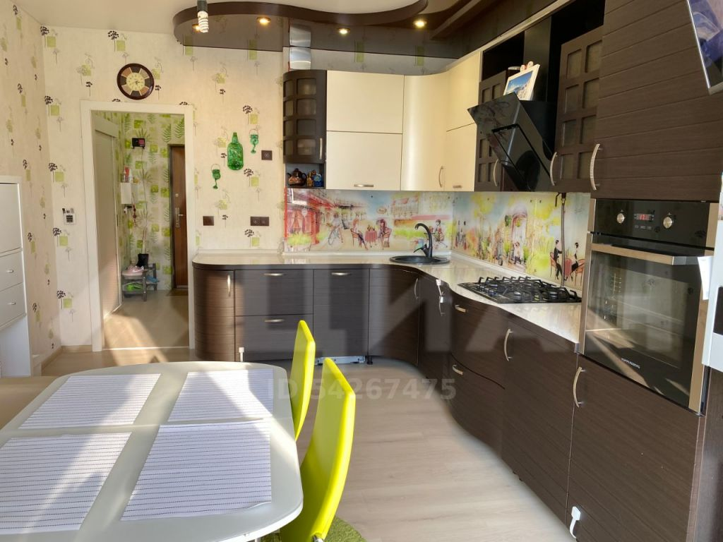 Продажа однокомнатной квартиры деревня Чёрная, Европейская улица 57, цена 5200000 рублей, 2021 год объявление №497362 на megabaz.ru