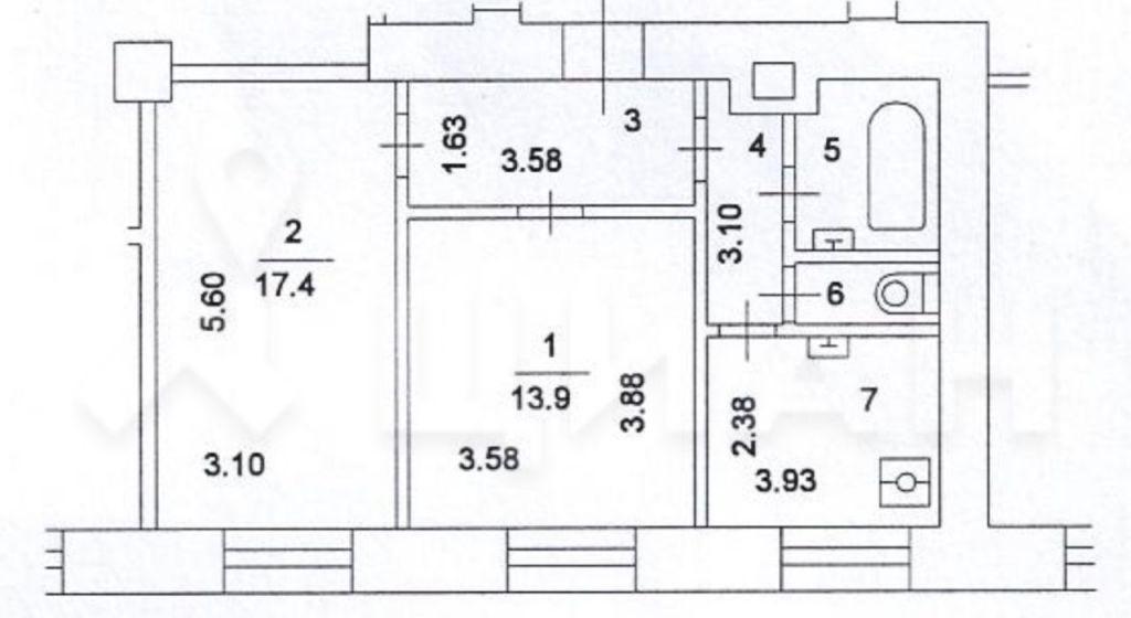 Продажа двухкомнатной квартиры Москва, метро Чеховская, Тверская улица 15, цена 31000000 рублей, 2021 год объявление №437383 на megabaz.ru