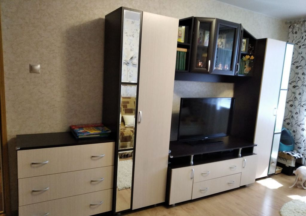 Продажа однокомнатной квартиры поселок Аничково, цена 2200000 рублей, 2020 год объявление №480633 на megabaz.ru