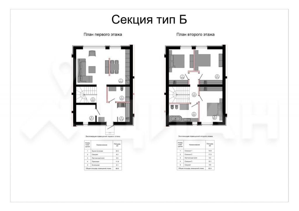 Продажа дома Звенигород, Вторая улица, цена 10480000 рублей, 2020 год объявление №503479 на megabaz.ru