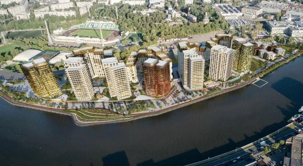 Продажа двухкомнатной квартиры Москва, метро Автозаводская, цена 16300000 рублей, 2020 год объявление №498027 на megabaz.ru