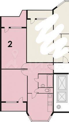 Продажа двухкомнатной квартиры Балашиха, метро Курская, Рождественская улица 5, цена 6500000 рублей, 2021 год объявление №506249 на megabaz.ru
