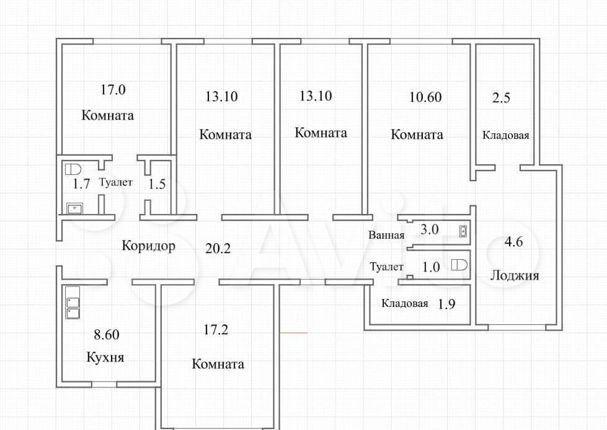 Продажа пятикомнатной квартиры Зеленоград, цена 17900000 рублей, 2021 год объявление №545194 на megabaz.ru