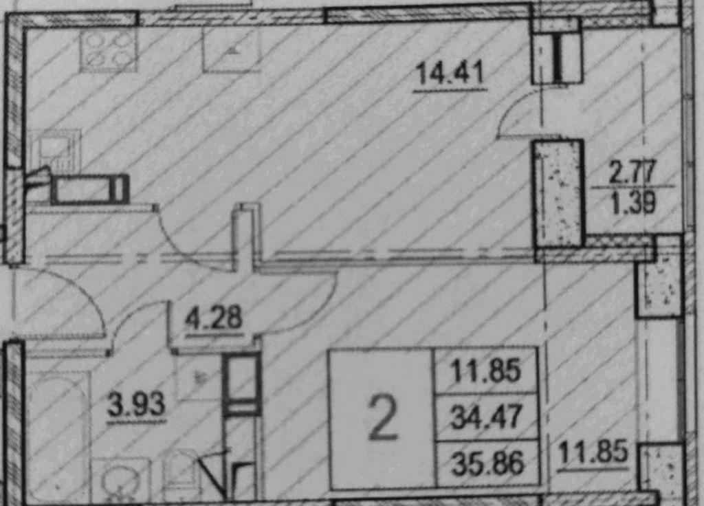 Продажа однокомнатной квартиры деревня Мисайлово, Молодёжный бульвар 13, цена 4300000 рублей, 2020 год объявление №501674 на megabaz.ru