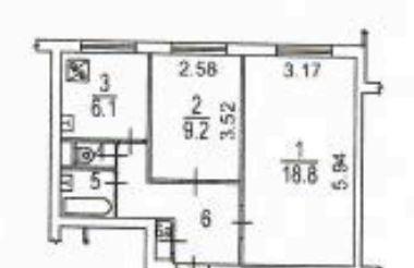 Продажа двухкомнатной квартиры Москва, метро Отрадное, улица Пестеля 2, цена 6600000 рублей, 2020 год объявление №500787 на megabaz.ru