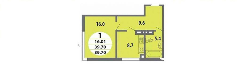 Продажа однокомнатной квартиры деревня Чёрная, Тенистая улица 8, цена 3800000 рублей, 2021 год объявление №424972 на megabaz.ru