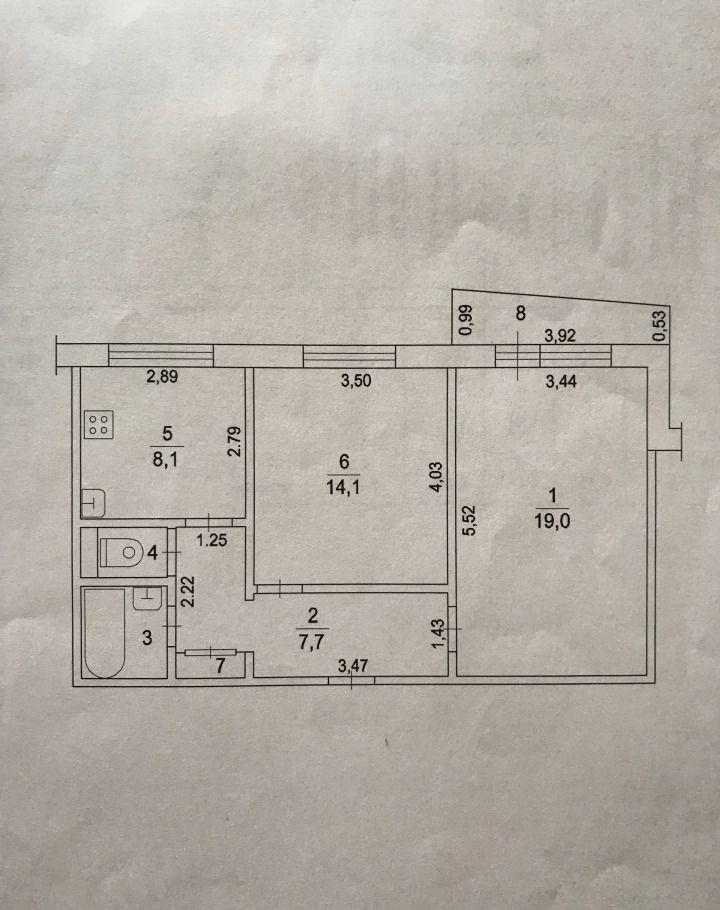 Продажа двухкомнатной квартиры деревня Нестерово, цена 2750000 рублей, 2020 год объявление №501602 на megabaz.ru
