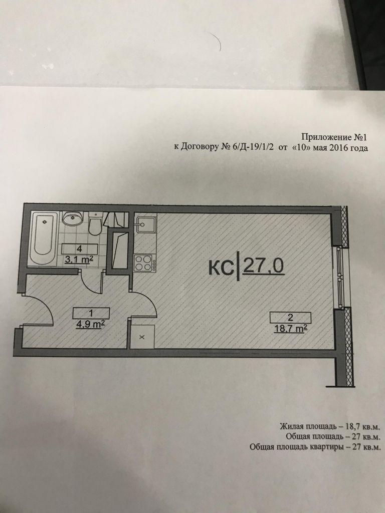 Продажа студии деревня Демихово, цена 2100000 рублей, 2021 год объявление №384756 на megabaz.ru