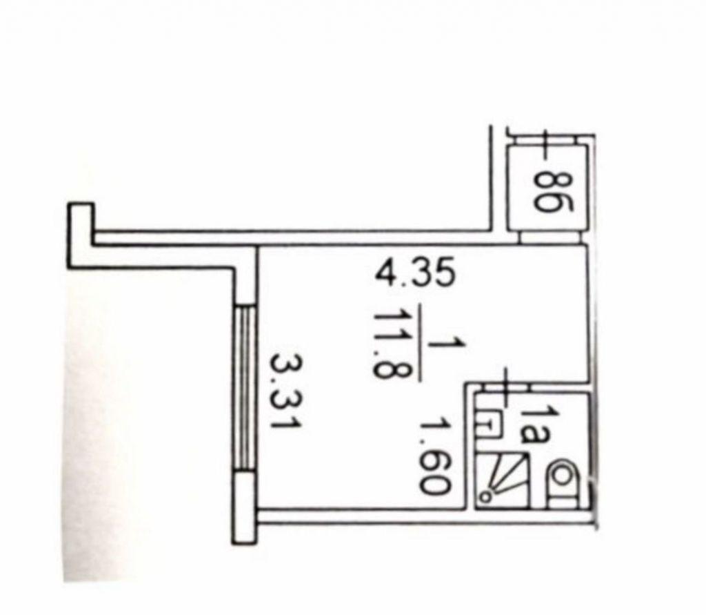 Продажа студии Москва, метро Автозаводская, Пересветов переулок 4к1, цена 2990000 рублей, 2020 год объявление №505171 на megabaz.ru