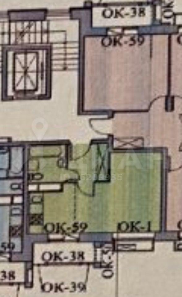 Продажа однокомнатной квартиры село Лайково, цена 3100000 рублей, 2021 год объявление №489402 на megabaz.ru
