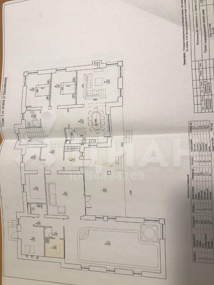 Продажа дома дачный посёлок Кратово, улица Орджоникидзе 19, цена 30000000 рублей, 2021 год объявление №450395 на megabaz.ru