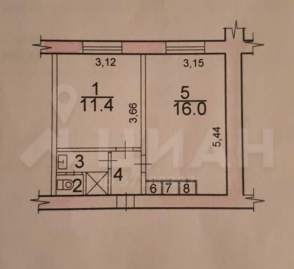 Продажа однокомнатной квартиры Протвино, улица Ленина 13Г, цена 1600000 рублей, 2020 год объявление №503290 на megabaz.ru