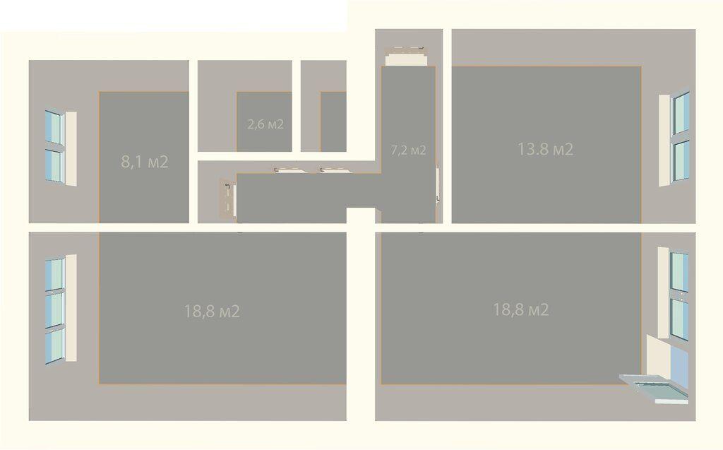 Продажа трёхкомнатной квартиры Москва, метро Шоссе Энтузиастов, улица Уткина 39, цена 13600000 рублей, 2021 год объявление №600057 на megabaz.ru