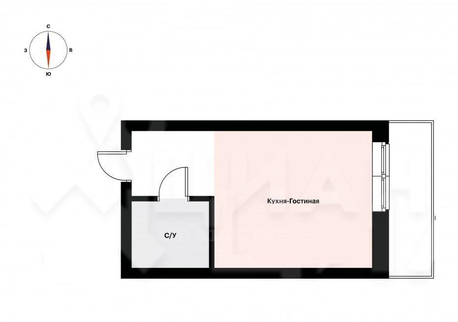 Аренда однокомнатной квартиры поселок Ильинское-Усово, Заповедная улица 5, цена 25000 рублей, 2020 год объявление №1218428 на megabaz.ru
