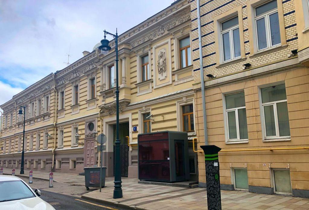 Продажа студии Москва, метро Арбатская, Калашный переулок 4, цена 7989998 рублей, 2020 год объявление №503319 на megabaz.ru