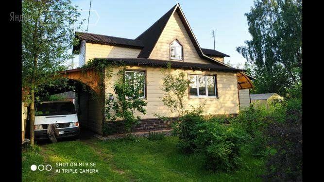 Продажа дома Кубинка, Железнодорожная улица 3Б, цена 7500000 рублей, 2020 год объявление №503694 на megabaz.ru