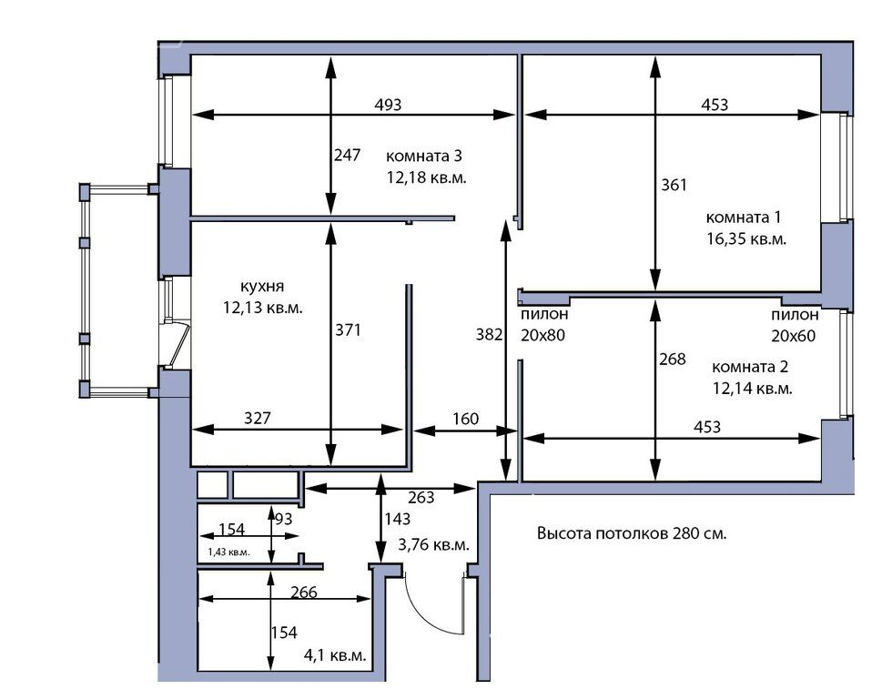 Продажа трёхкомнатной квартиры Москва, метро Митино, Заречная улица 3, цена 6500000 рублей, 2020 год объявление №503669 на megabaz.ru