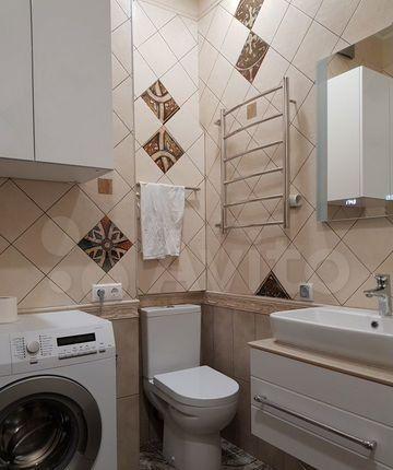 Аренда двухкомнатной квартиры деревня Рузино, цена 40000 рублей, 2021 год объявление №1355335 на megabaz.ru