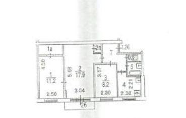 Продажа трёхкомнатной квартиры Москва, метро Планерная, улица Свободы 85к1, цена 7600000 рублей, 2020 год объявление №503963 на megabaz.ru