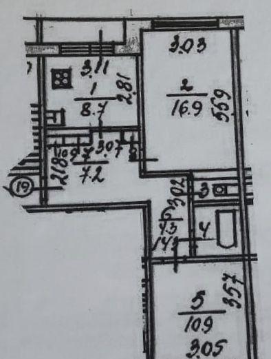 Продажа двухкомнатной квартиры деревня Алфёрово, цена 2300000 рублей, 2020 год объявление №482385 на megabaz.ru