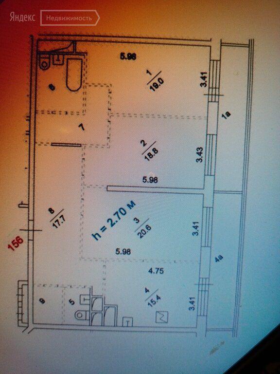 Продажа четырёхкомнатной квартиры Москва, метро Нагатинская, 1-й Нагатинский проезд 11к1, цена 24800000 рублей, 2021 год объявление №553420 на megabaz.ru