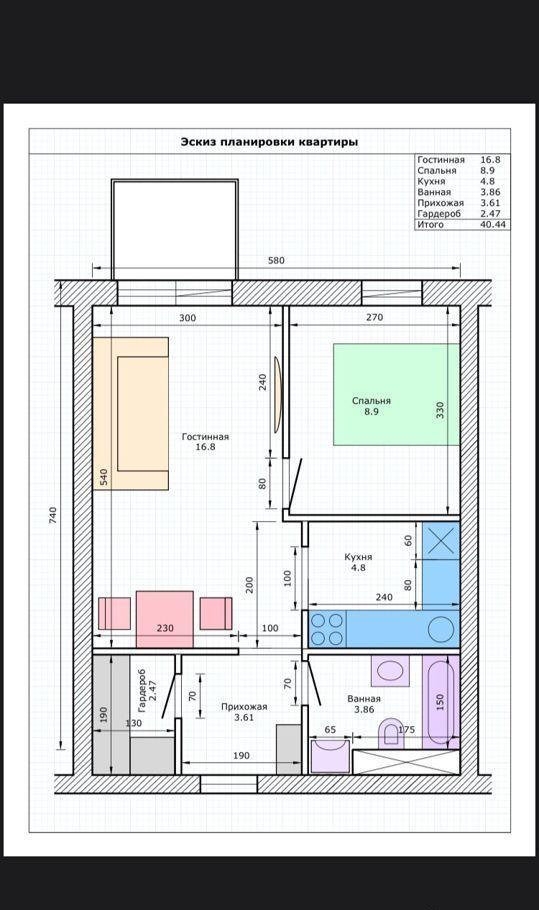 Продажа студии рабочий посёлок Тучково, Комсомольская улица 14к7, цена 3600000 рублей, 2021 год объявление №566386 на megabaz.ru