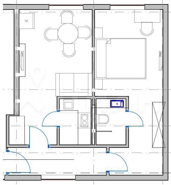 Аренда двухкомнатной квартиры поселок Дубровский, цена 35000 рублей, 2021 год объявление №1216434 на megabaz.ru