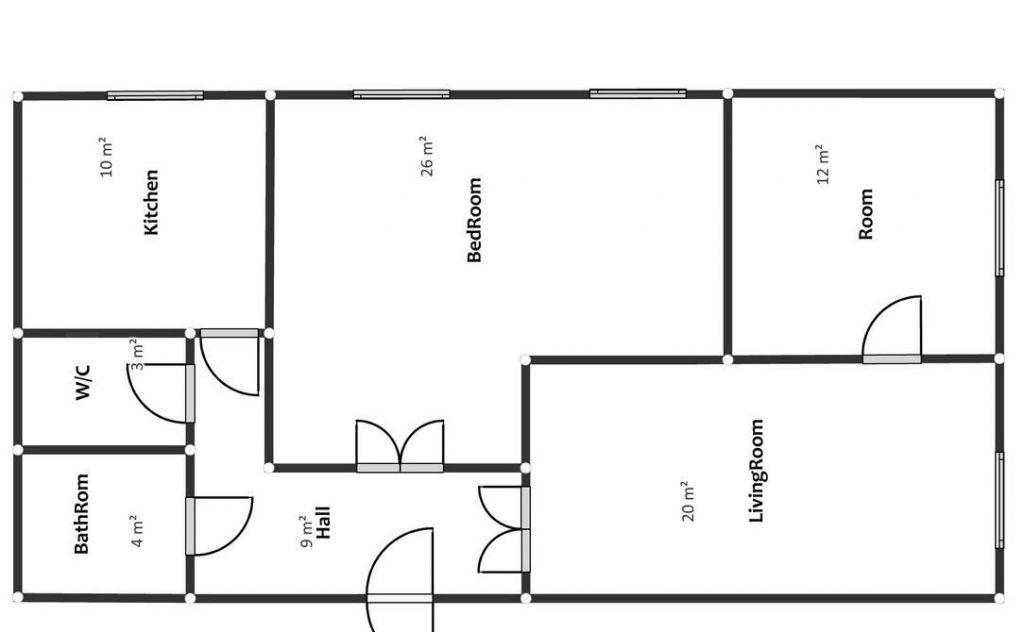 Аренда трёхкомнатной квартиры Москва, метро Сокол, 1-й Балтийский переулок 3/25, цена 78000 рублей, 2020 год объявление №1221054 на megabaz.ru