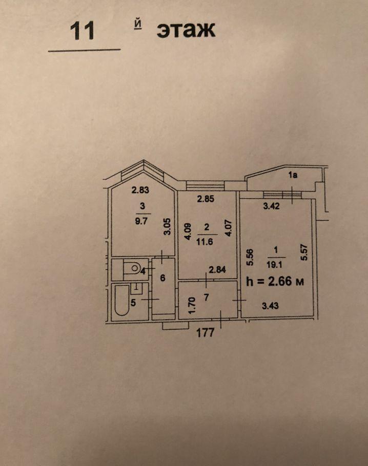 Продажа двухкомнатной квартиры Москва, метро Перово, Перовская улица 22к2, цена 10990000 рублей, 2020 год объявление №506825 на megabaz.ru