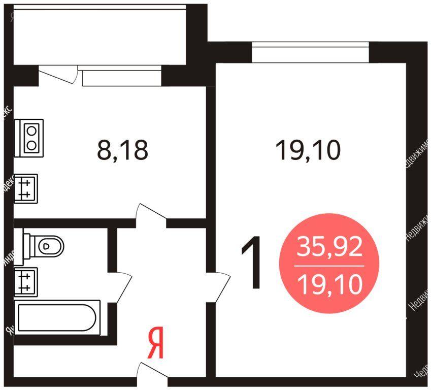 Продажа однокомнатной квартиры Москва, метро Менделеевская, Тихвинская улица 12, цена 13100000 рублей, 2021 год объявление №558696 на megabaz.ru